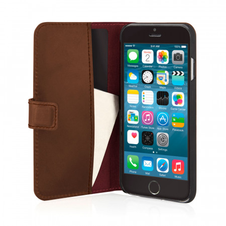 PIPETTO: iPhone 6 Plus / iPhone 6S Plus Leather Folio Wallet Cases & Covers