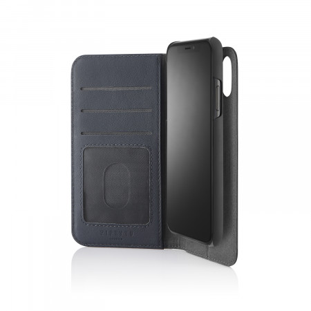 iPhone xs folio navy - hero