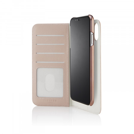 iPhone xs max folio dusty pink - hero