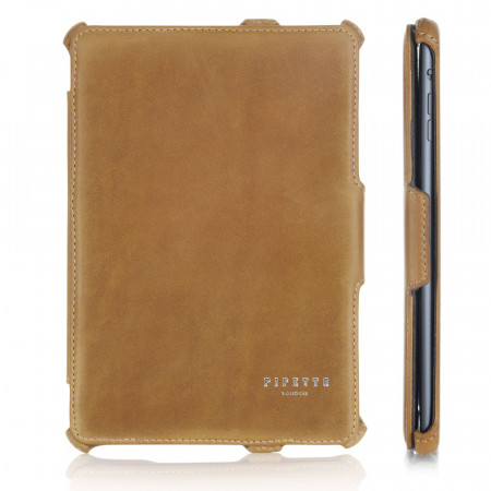Luxury Tan Leather iPad Mini Case iPad Cover