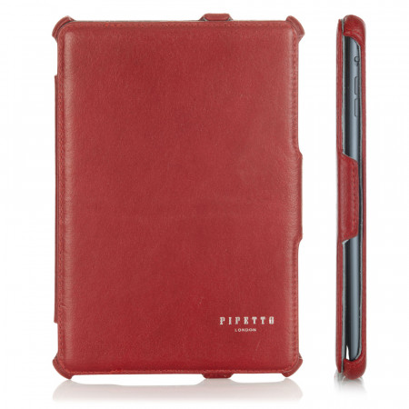 Luxury Red Leather iPad Mini Case