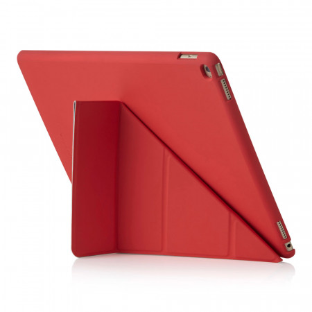 Pipetto iPad Pro Origami Case - Red Exterior