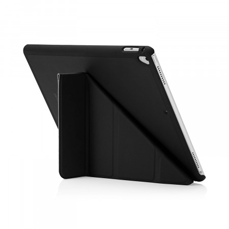 Pipetto iPad Pro 12.9 2nd Gen Origami Case Black - back exterior