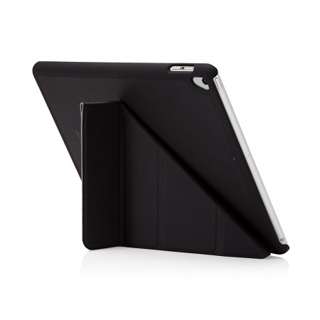 Pipetto 9.7-inch 2017 iPad Origami Original Black - back exterior
