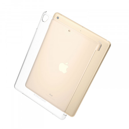 pipetto ipad 9.7 2017 clear case - back expoded