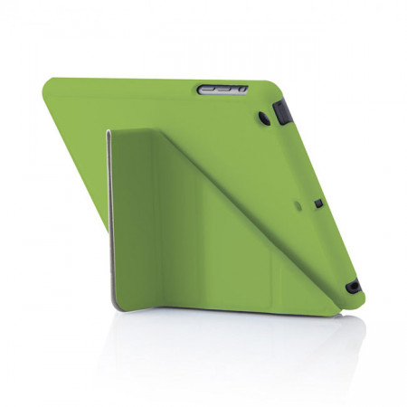 Pipetto iPad Mini 1, 2, 3 Origami  Case Green - Back Exterior
