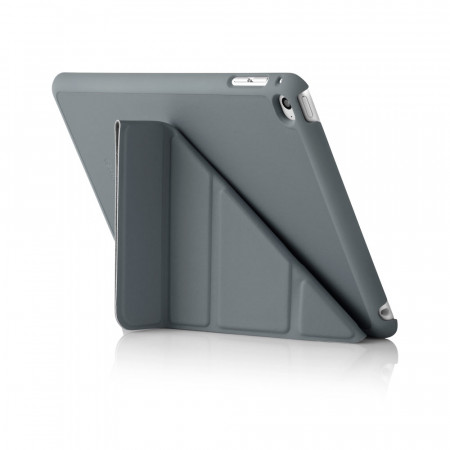 iPad Mini 4 Origami Case Dark Grey - Back Exterior