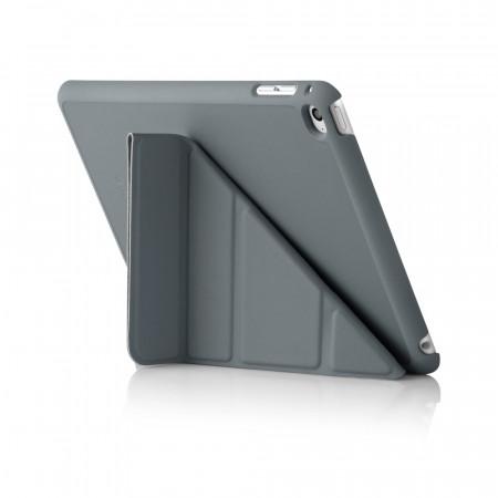 iPad Mini 4 Origami Case Dark Grey - Back Exterior