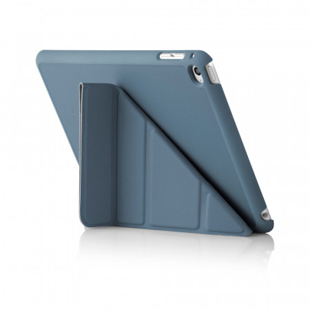 iPad Mini 4 Origami Case Navy - Back Exterior