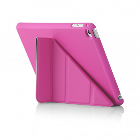 Pipetto iPad Mini 4 Case Origami Pink - Back Exterior