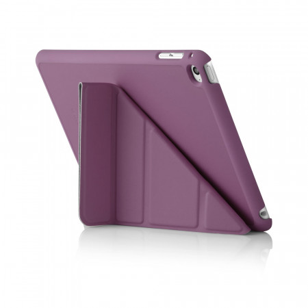 Pipetto Origami iPad Mini 4 Case Purple - Back Exterior