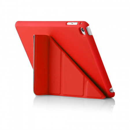 iPad Mini 4 Origami Case Red - Back Exterior
