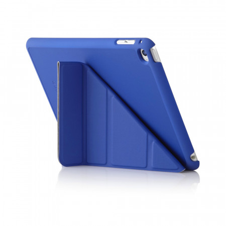 iPad Mini 4 Case Origami Royal Blue - Back Exterior