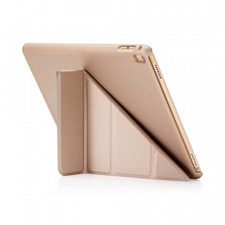 Pipetto 9.7-inch iPad Pro Origami case champagne gold - back exterior