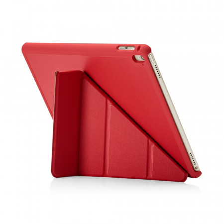 Pipetto iPad Air 2 Case Red Origami Luxe - back exterior