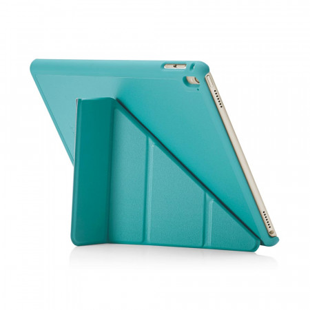 Pipetto iPad Pro 9.7 Origami Luxe Turquoise - back exterior