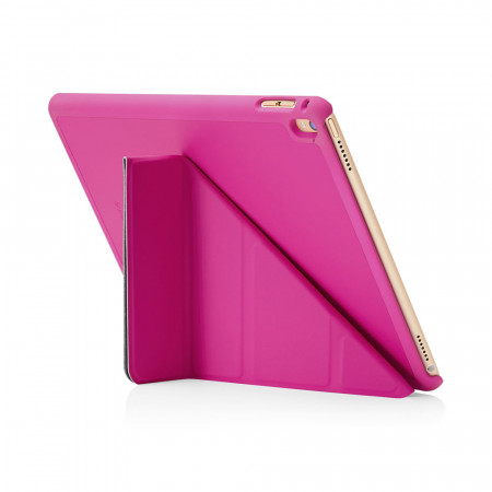 Pipetto Origami iPad Pro 9.7 Case Pink - exterior back
