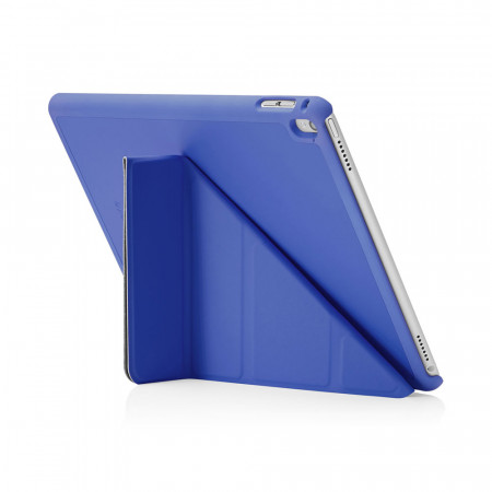 Pipetto Origami iPad Pro 9.7 Case Royal Blue - back exterior