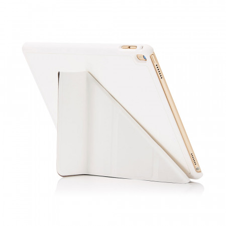 Pipetto iPad Pro 9.7 Origami white - back exterior
