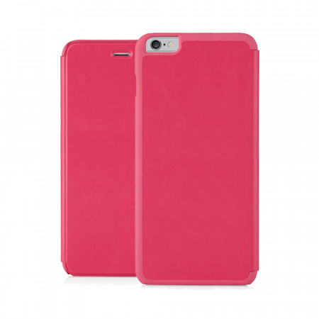 Pipetto iPhone 6 Plus / iPhone 6S Plus Folio Case Pink Lambskin Luxe