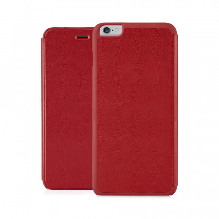 Pipetto iPhone 6 Plus / iPhone 6S Plus Folio Case Red Lambskin Luxe