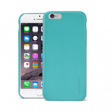 Pipetto Iphone 6 Case Snap Turquoise Lambskin