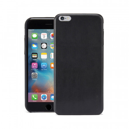 Pipetto iPhone 6 Plus / iPhone 6S Plus Luxe Snap Case Black - front