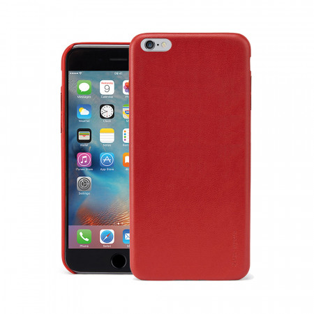 Pipetto iPhone 6 Plus / iPhone 6S Plus Luxe Snap Case Red - front