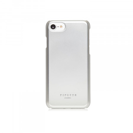 pipetto iphone 7 case inner magnetic shell back silver