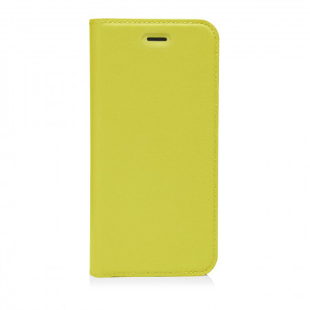 pipetto iphone7 case medium wallet front yellow