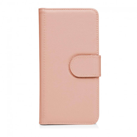 Pipetto iPhone7 case wallet large Front pink