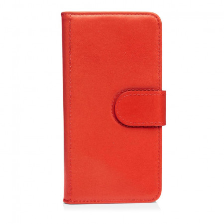 Pipetto iPhone7 case wallet large Front red