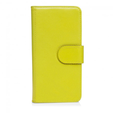 Pipetto iPhone7 case wallet large Front yellow