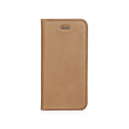 Pipetto iPhone 5 / 5S / SE  Wallet Case [MED] Tan - Front