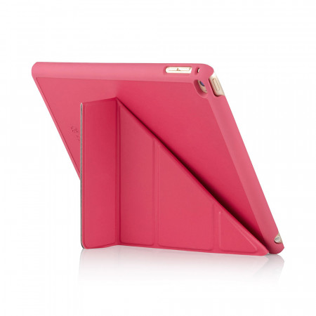 Pipetto iPad Air 2 Case Origami Pink Luxury Vegan Lambskin | Pipetto