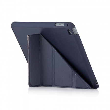 iPad Mini 4 Origami Luxe Navy - back exterior