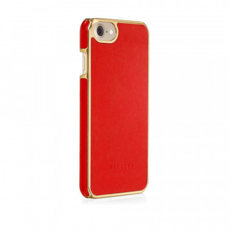 Pipetto iPhone 7 snap case red - back angle 2