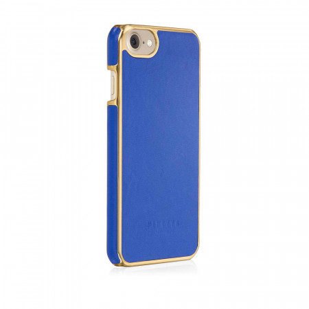 Pipetto iPhone 7 snap case royal blue - back angle 2