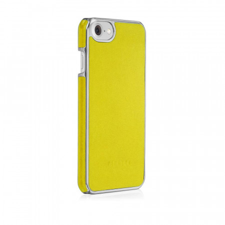 Pipetto iPhone 7 snap case yellow - back angle 2