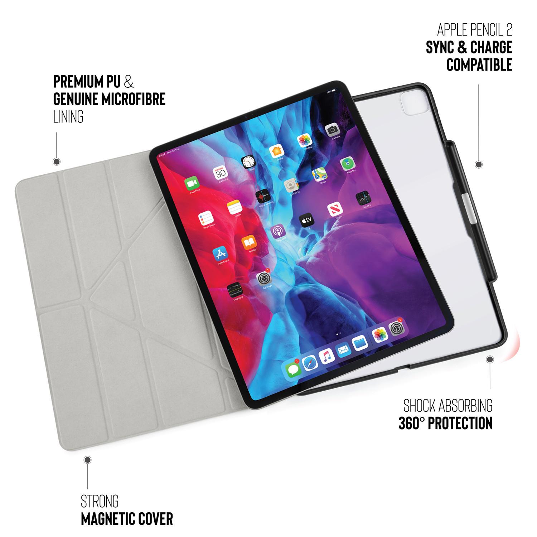 Pipetto Online Store Ipad Pro 12 9 Origami Pencil Case 3rd And 4th Gen Black