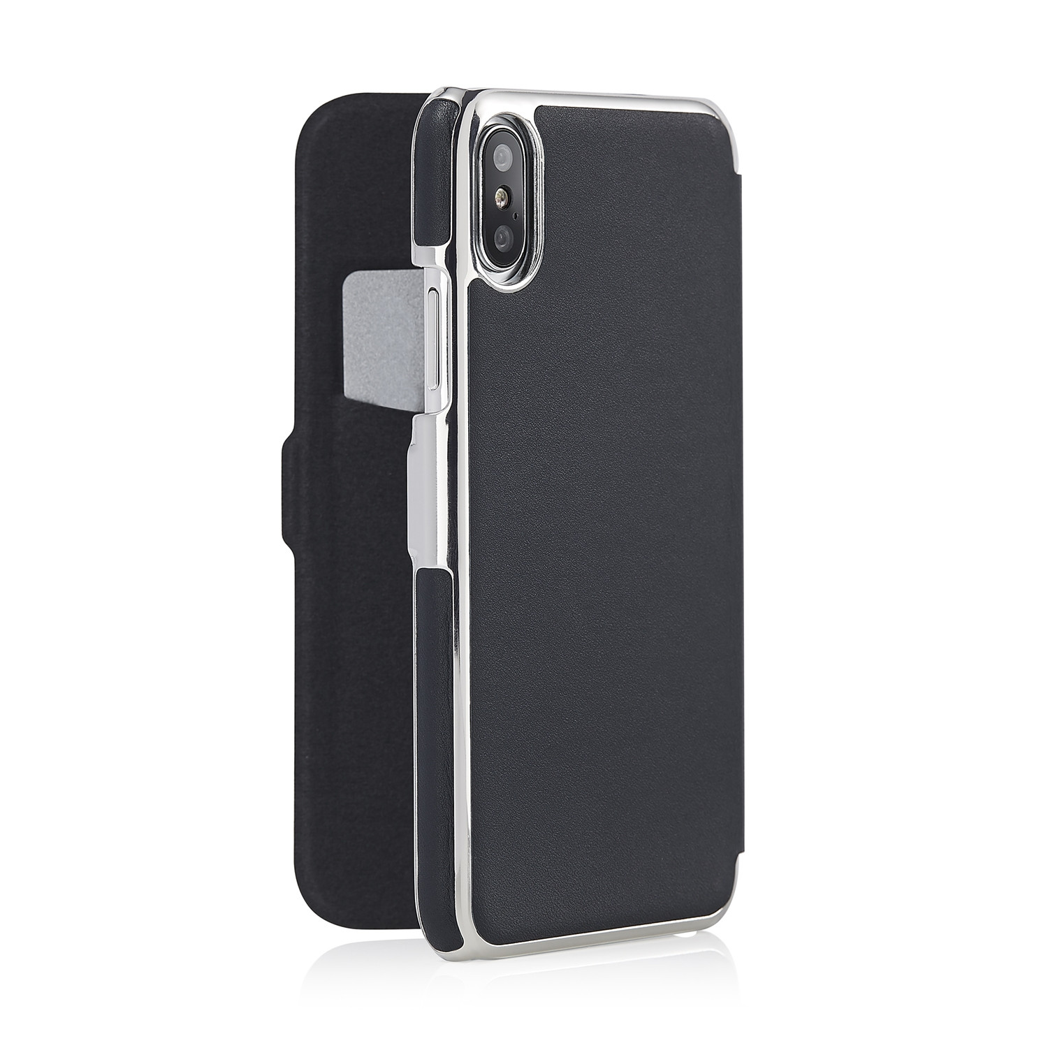 promo code f25c0 34b7e iPhone X Slim Wallet - Navy