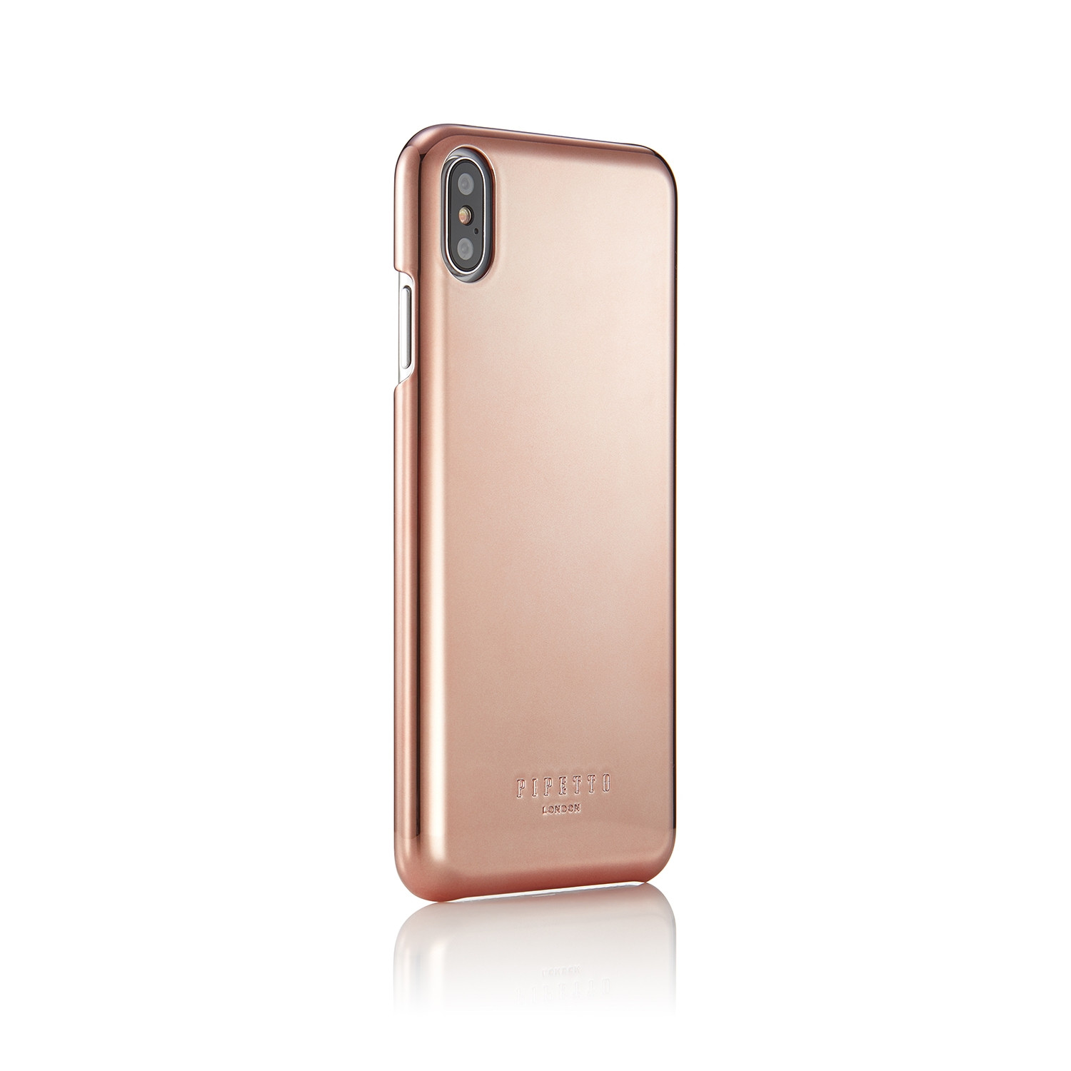 official photos f2b98 c456c iPhone XS Max Case Magnetic Shell - Rose Gold