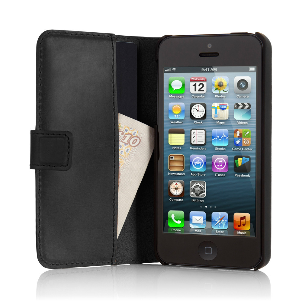 d12a5fdd32 PIPETTO: iPhone 5 5S Leather Folio Wallet Cases & Covers