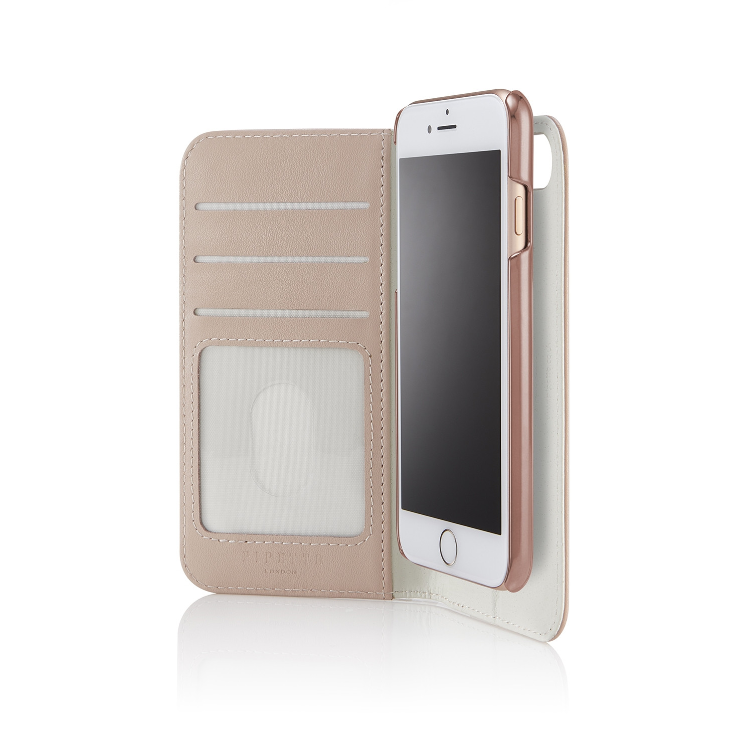 cheap for discount 47dbd 17123 iPhone 6/7/8 2-in-1 Leather Magnetic Folio Case - Dusty Pink