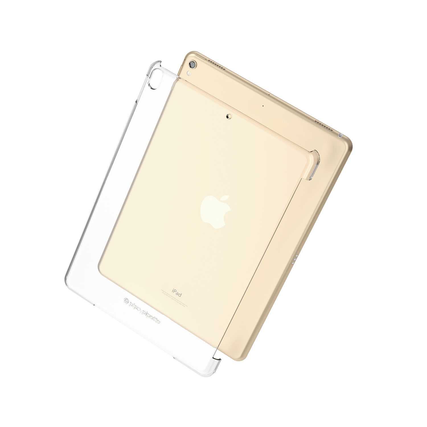 2ea6bf0dc767 pipetto ipad Pro 10.5 clear case - back expode