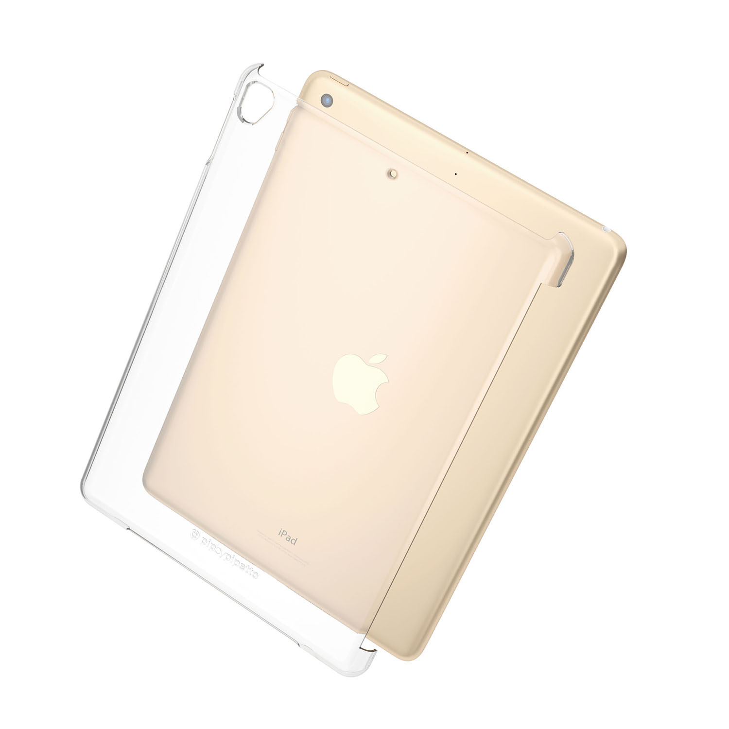 competitive price 5e106 5000c Smart Cover Compatible iPad 9.7 (2018) Protective Clear Shell Cover (Air 1,  Air 2, Pro 9.7 & iPad 9.7 2017 Compatible)