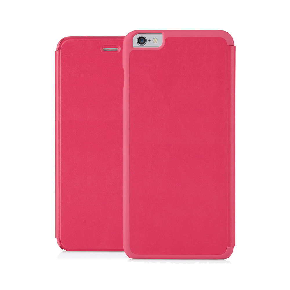 sports shoes a241b ce3e5 iPhone 6 Plus / iPhone 6S Plus Folio Case Pink Lambskin Luxe