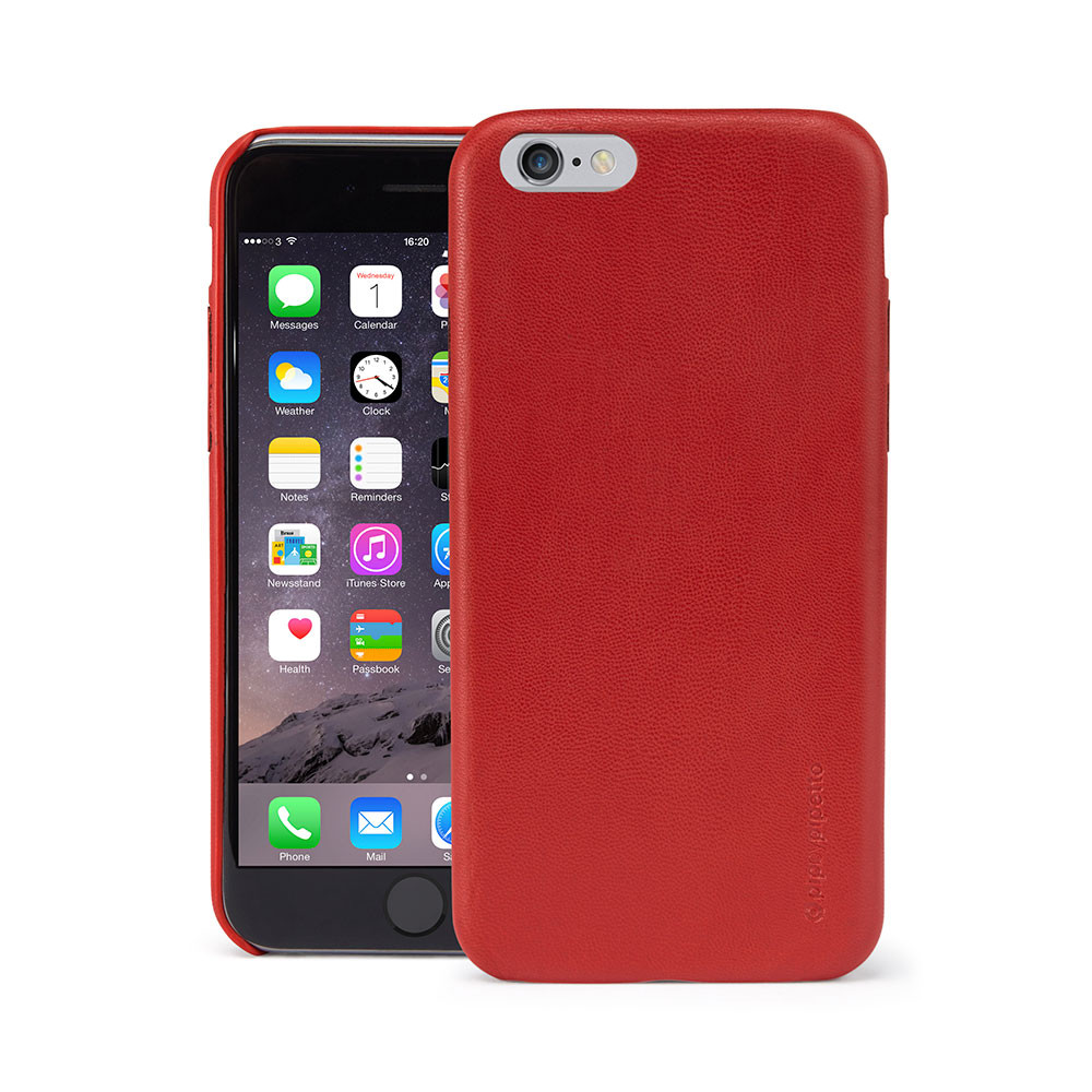wholesale dealer 8030d c4826 iPhone 6 / iPhone 6S Case Snap Red Lambskin Luxe