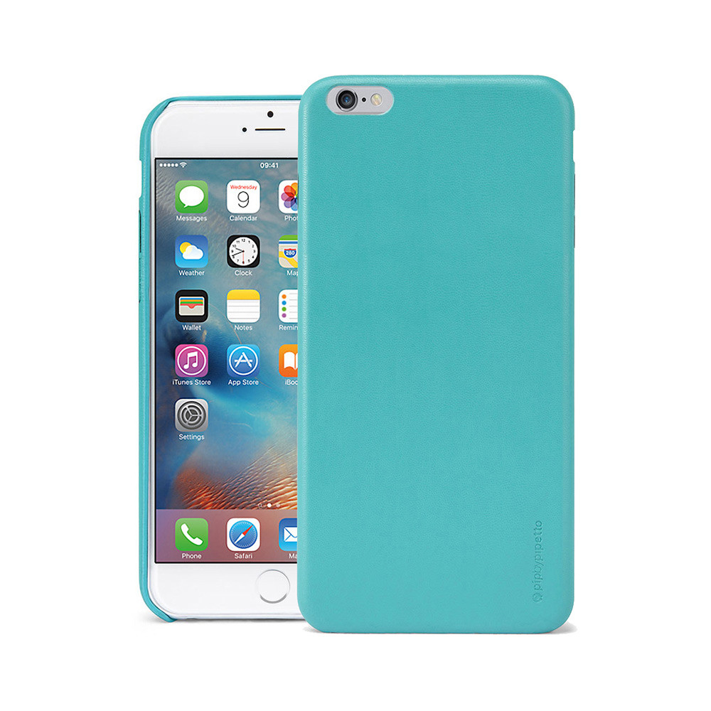 promo code 81f1a df18d iPhone 6 Plus / iPhone 6S Plus Case Snap Turquoise Lambskin Luxe