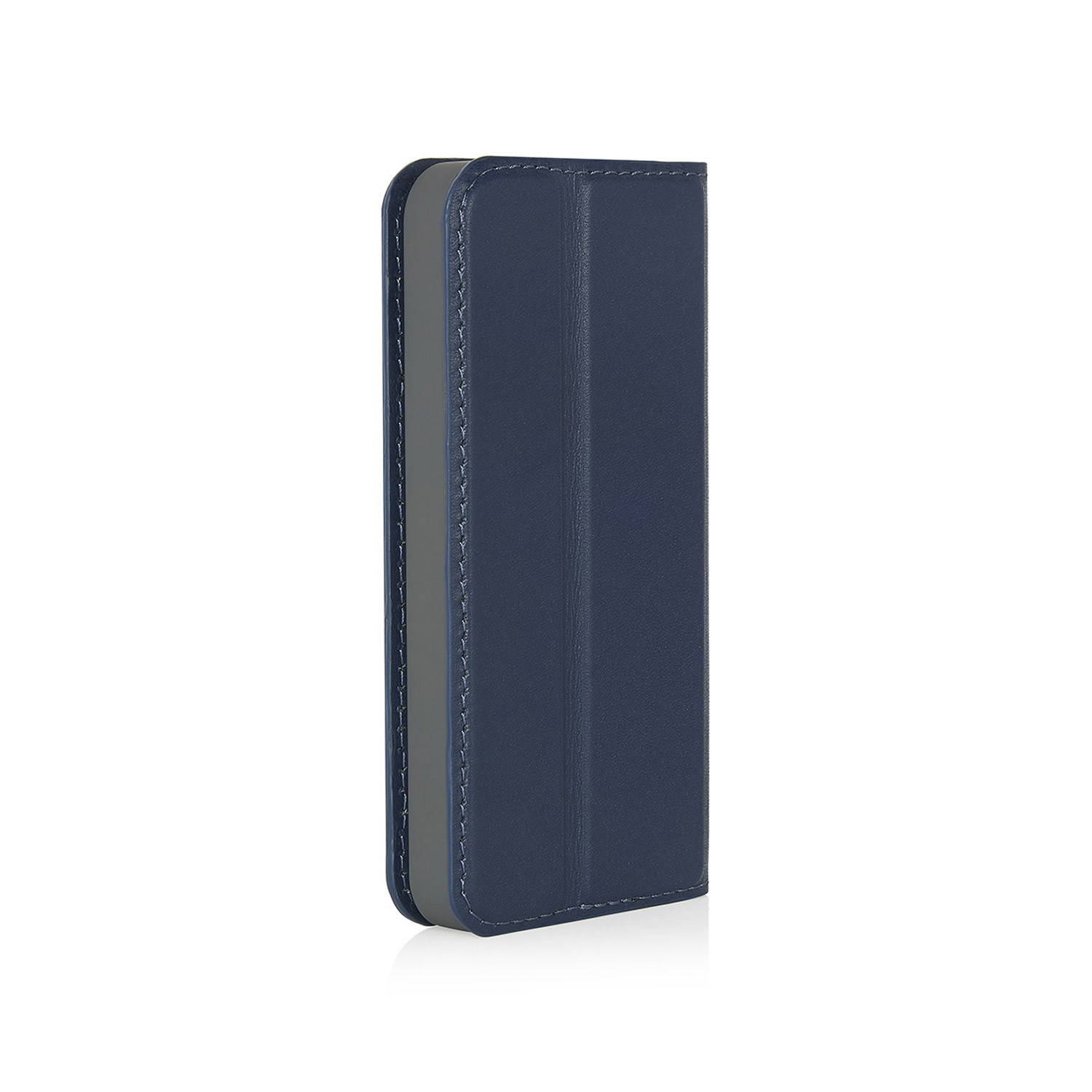 best authentic 8faf9 2c7ef iPhone SE Wallet Case [MED] Magnetic - Navy (Also Fits iPhone 5/5S)